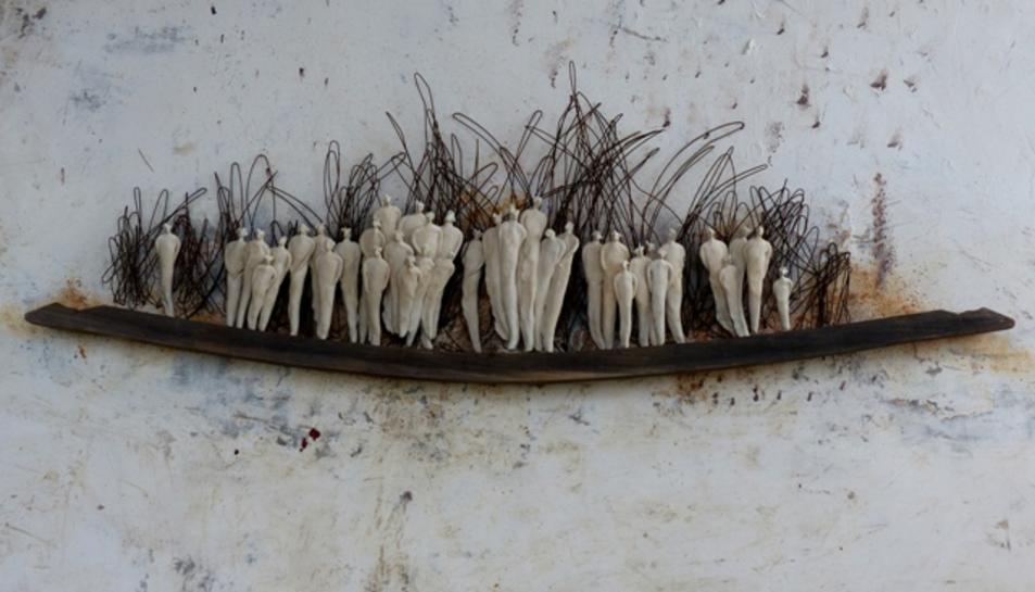 Una de les obres de Roser Oter que es mostrarà en aquestes exposicions.