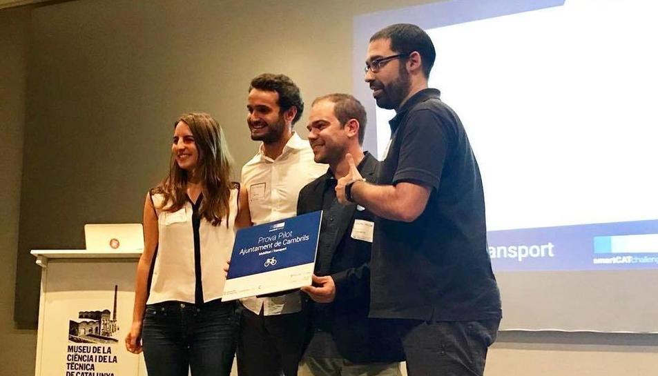 La final del concurs d'emprenedoria tecnològica, que va tenir lloc a Terrassa.