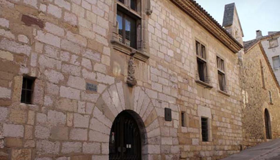 Imatge de l'exterior del Consell Comarcal de la Conca de Barberà