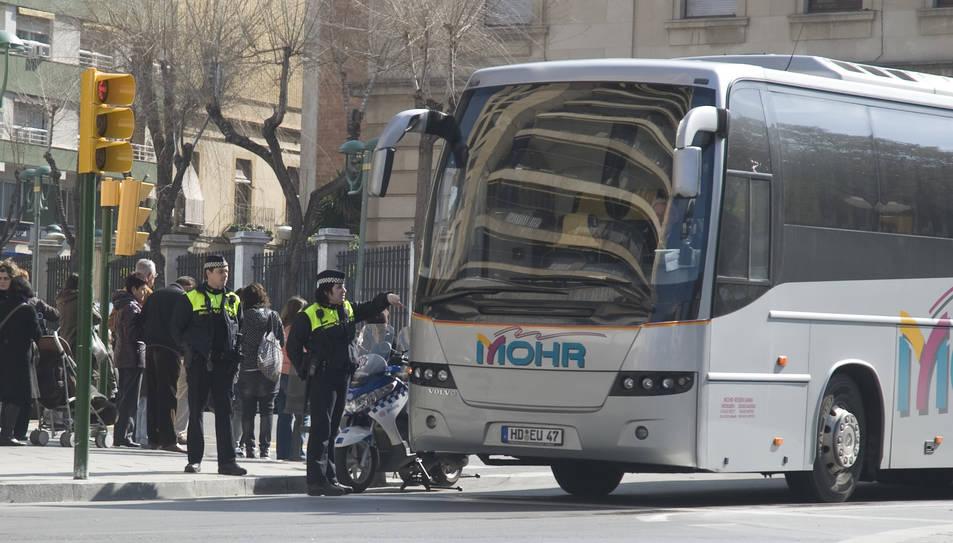 Imatge d'arxiu d'agents de la Guàrdia Urbana a Tarragona.