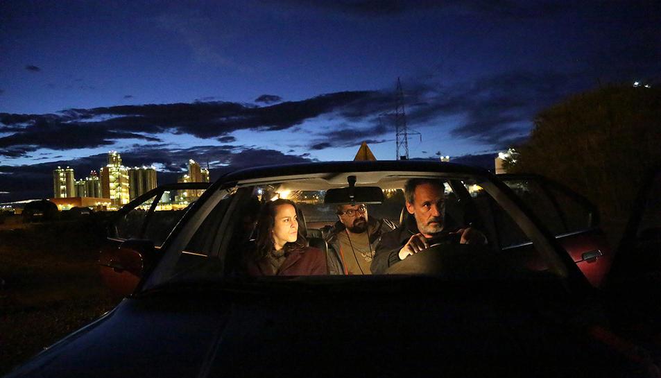 Imatge d'una escena del 'teaser' de la pel·lícula enregistrat a Tarragona.