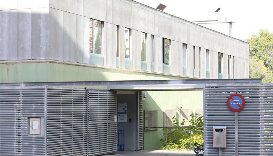 La façana del CAP Sant Pere i Sant Pau.