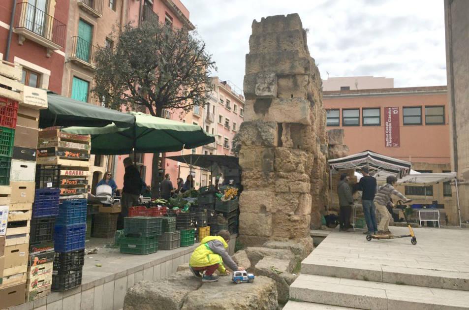 Una de les imatges del reportatge sobre Tàrraco.