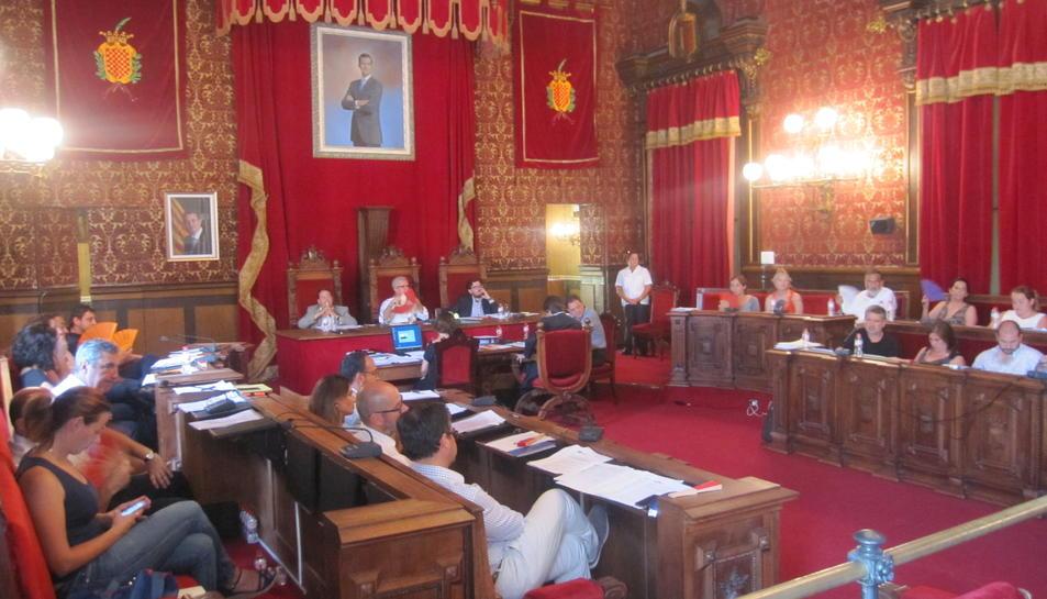 Imatge del ple en què es va aprovar la moció per promoure l'estudi epidemiològic.