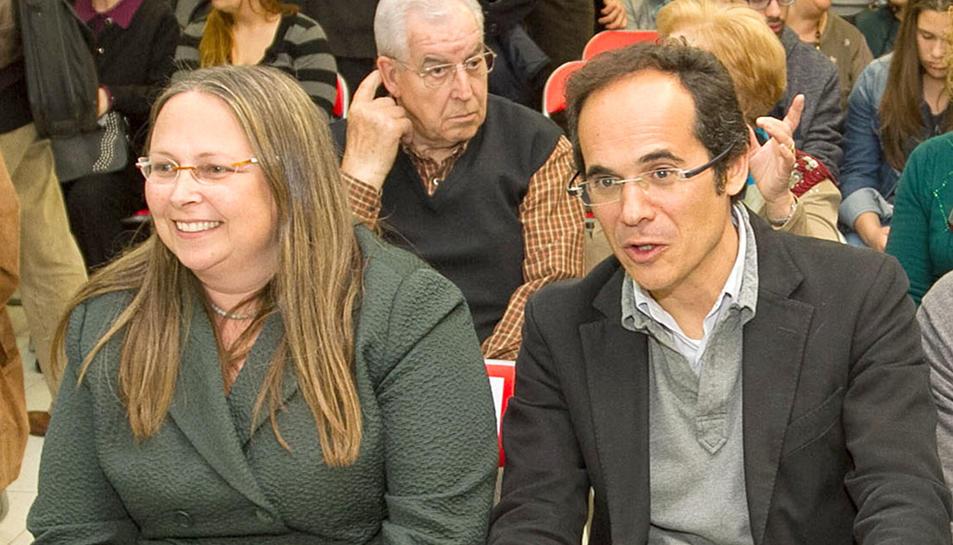 Imatge d'arxiu de Núria Borrell i Francesc Vallès