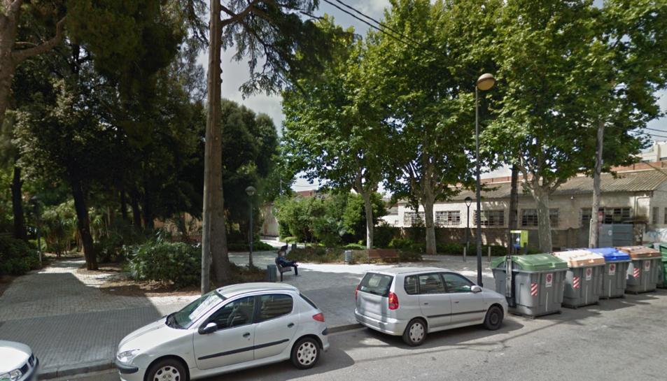 El cadàver va ser trobat al parc situat al carrer Frida Khalo.