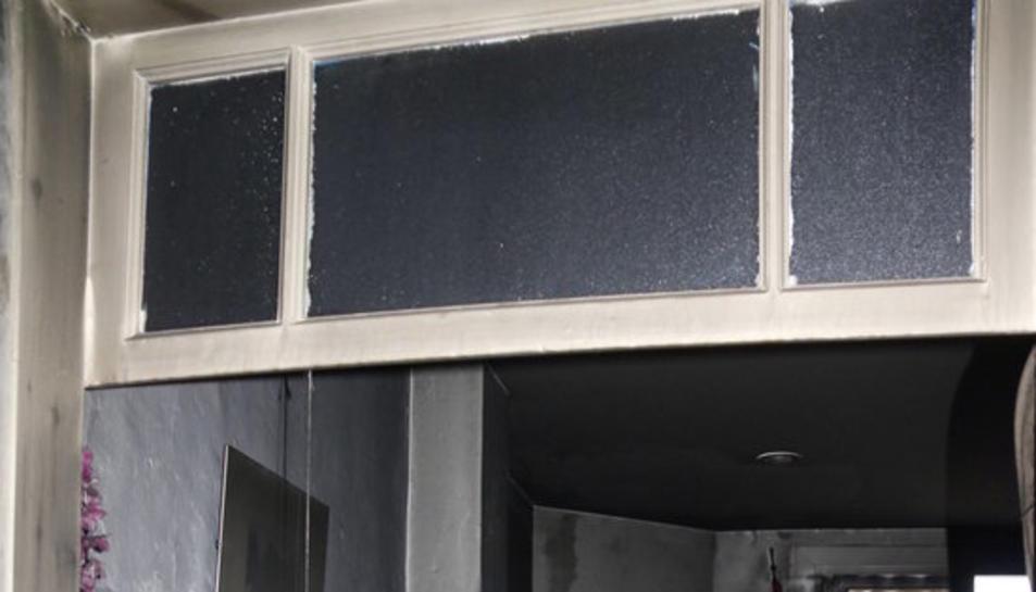 Imatge del pis on es va produir l'incendi mortal, fet arran del qual la Federació lamenta que el seu projecte no tingui suport.