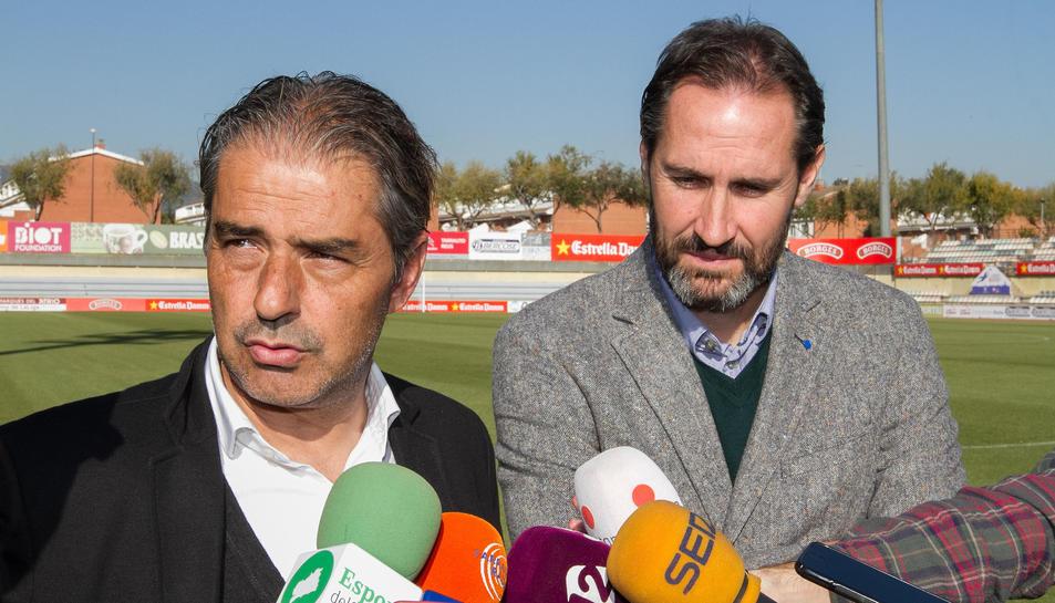 Natxo González i Vicente Moreno.