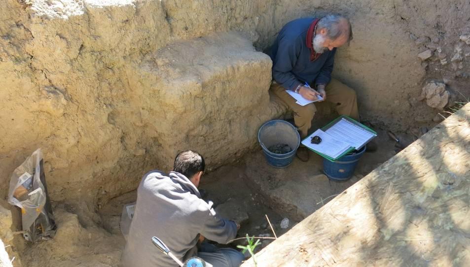 Les excavacions del Cavet.