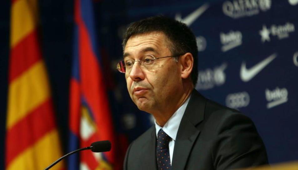 El president del Barça.