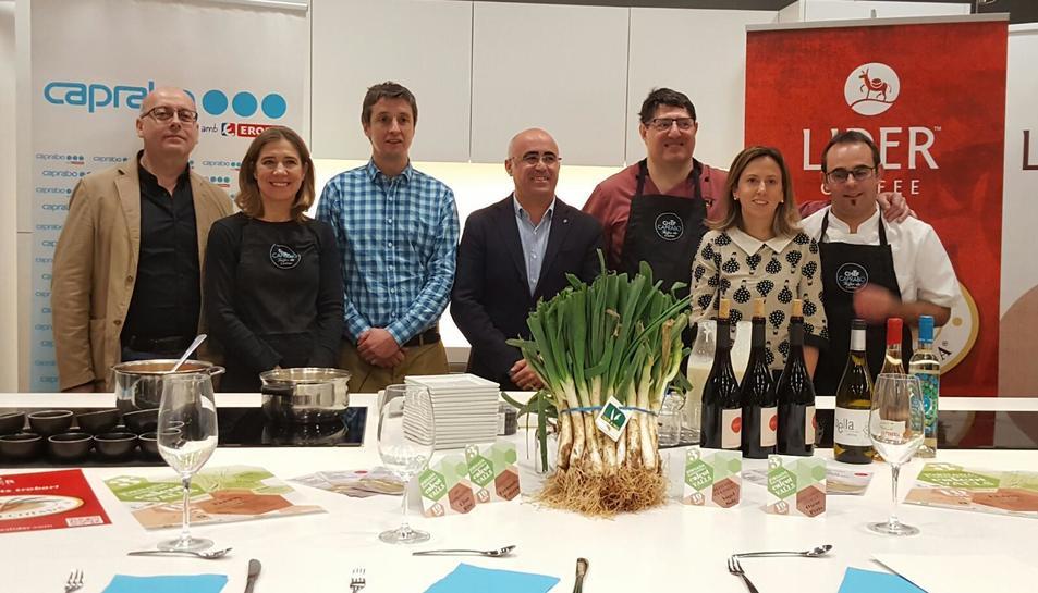 Imatge de la presentació de la 3a Jornada Gastronòmica del Calçot.
