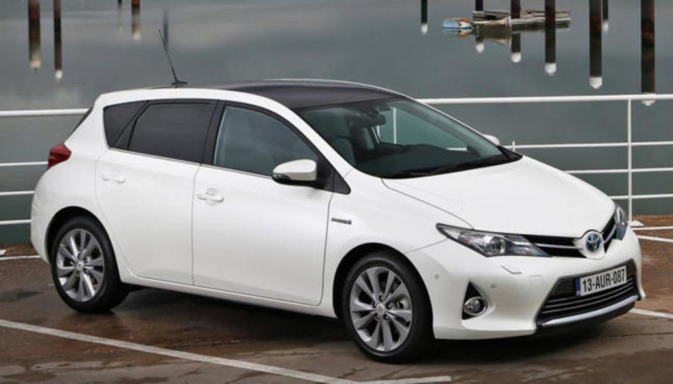 Un Toyota Auris.