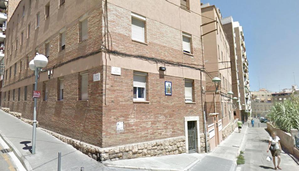 EL carrer Caputxins de Tarragona.