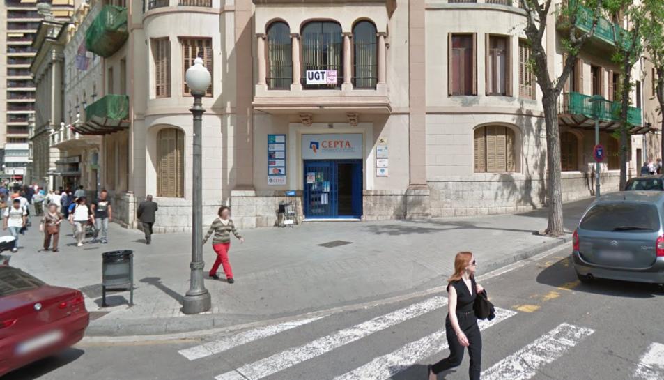 Les instal·lacions de CEPTA de la Rambla Nova de Tarragona.