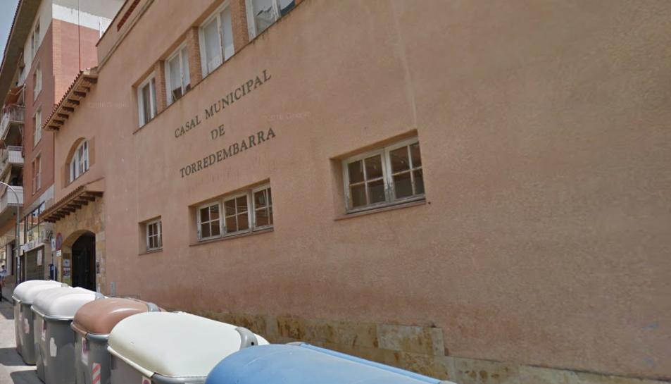 La façana del Casal Municipal.