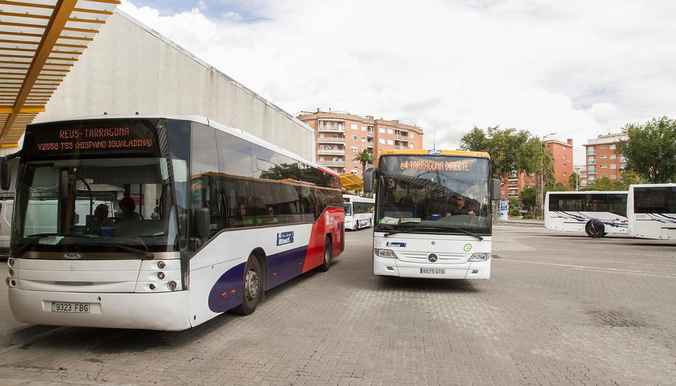 Imatge de l'estació d'autobús Reus