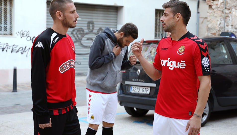Xavi Molina, amb David Querol.