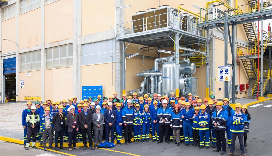 La nova planta de BASF se situa a la Canonja.