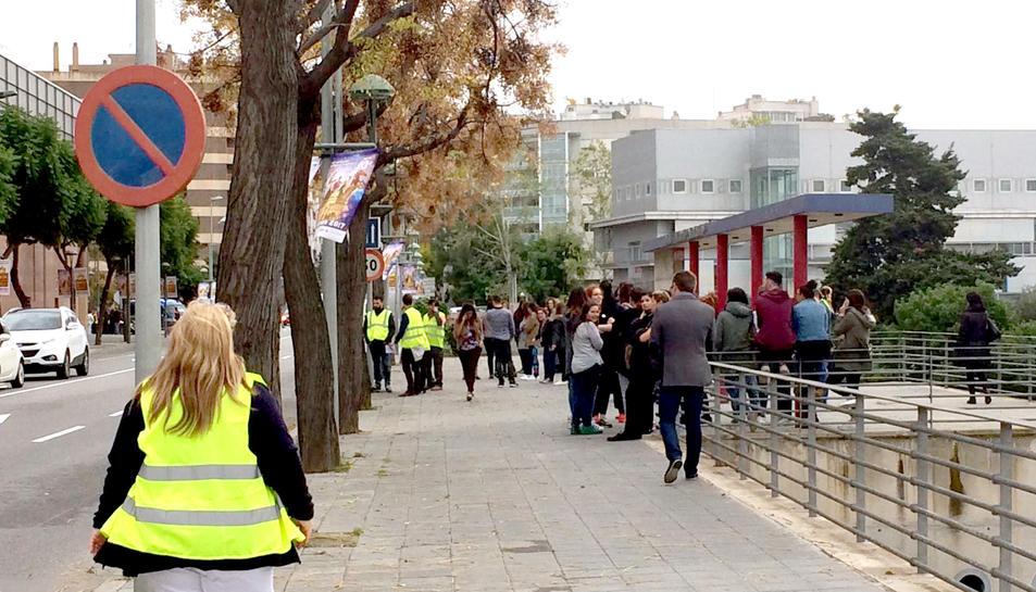 Els carrers, plens de gent.