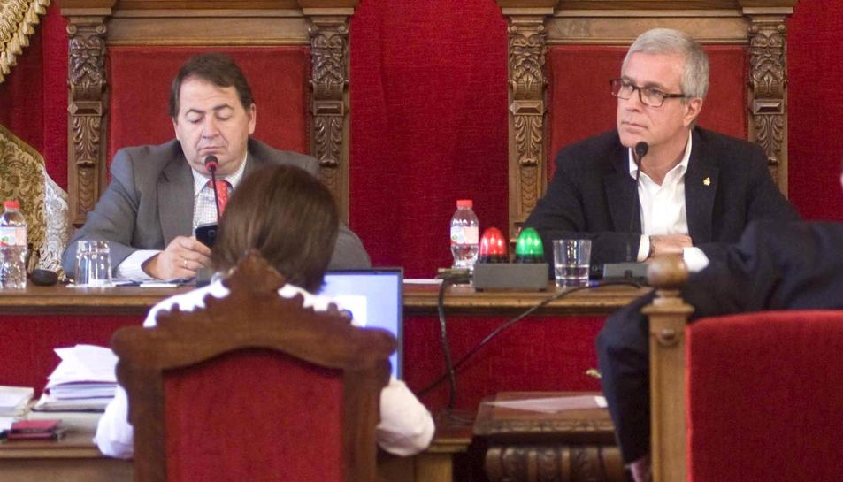 Pau Pérez defensarà el pressupost en el ple del dilluns.