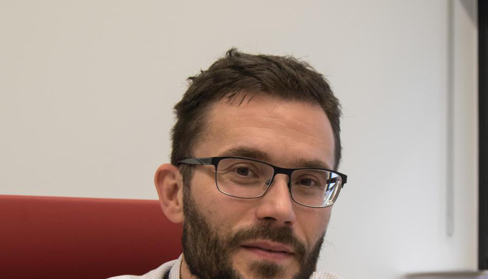 Imatge de Xavier Bru, el nou gerent de GINSA AIE.