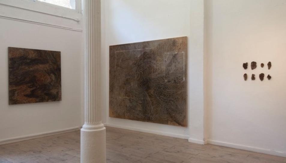Interior de la galeria.