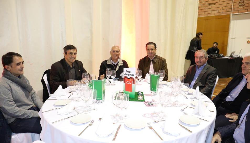 Muchas personalidades asistieron a la cena