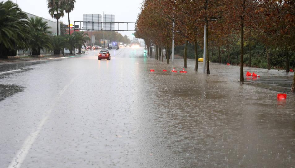 Les fortes pluges han provocat inundacions en certs punts del Camp de Tarragona