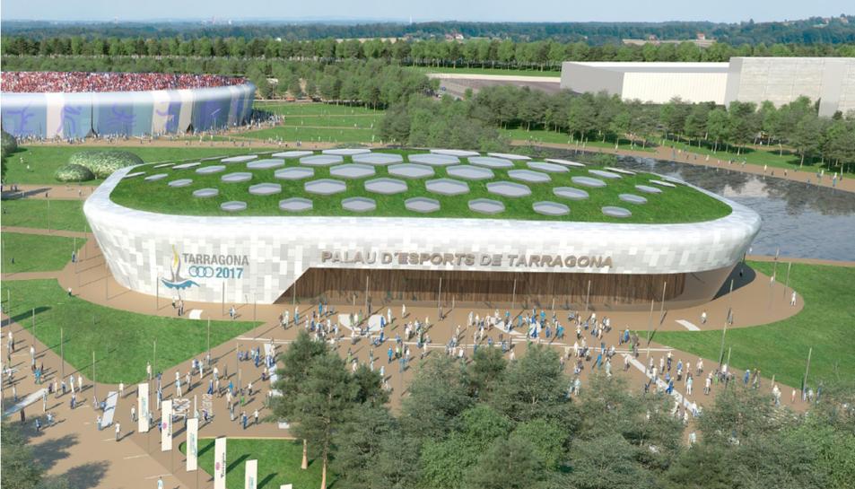 El Palau d'Esports l'Anella Mediterrània rebrà una de les aportacions més quantioses.