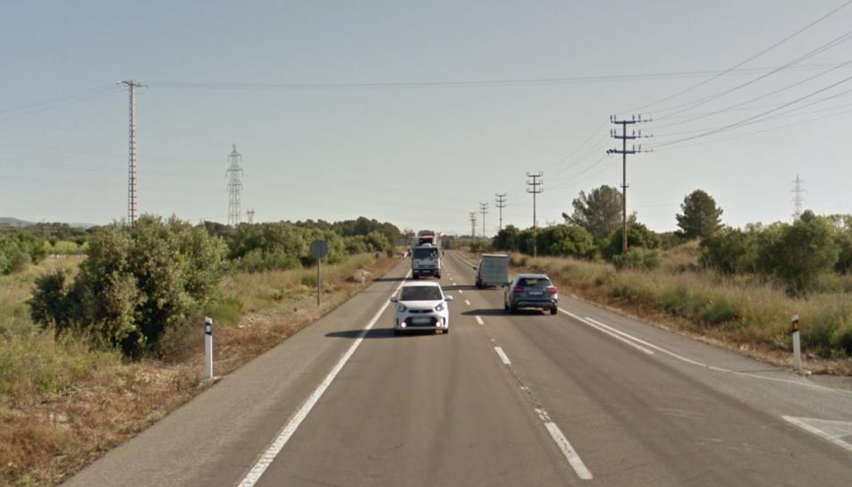 El xoc s'ha produït a la N-340 al terme municipal de l'Arboç