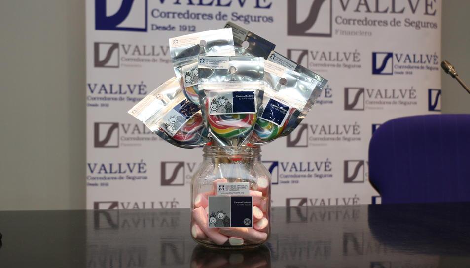 Les piruletes estan impulsades per la companyia Vallvé Seguros.