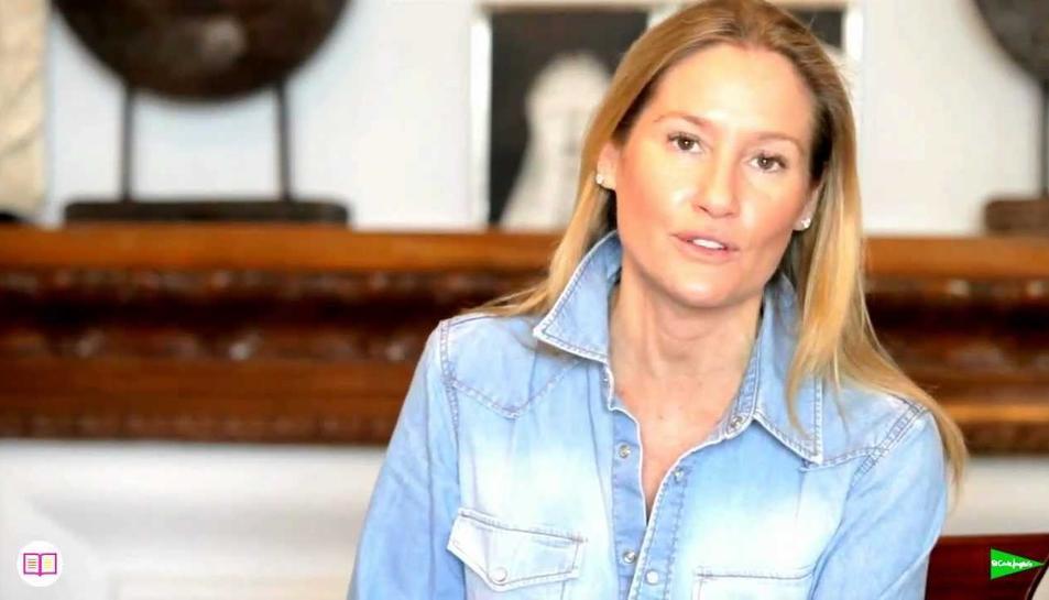 L'empresària, escriptora i bloguera experta en moda Fiona Ferrer.