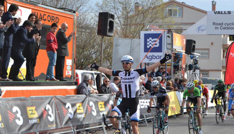 Una imatge de la Volta Ciclista a Catalunya de l'any passat.