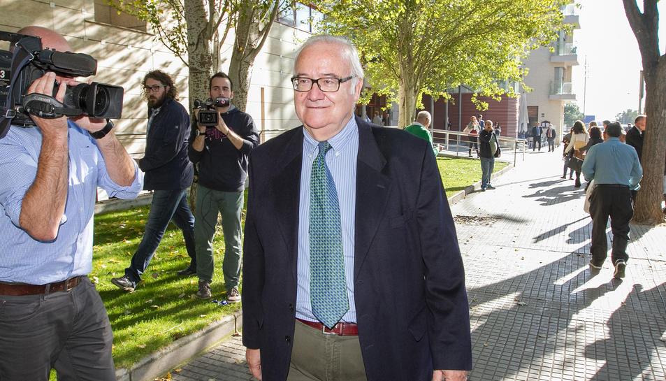 Imatge d'arxiu de l'exdirector d'Innova, Josep Prat, als Jutjats.