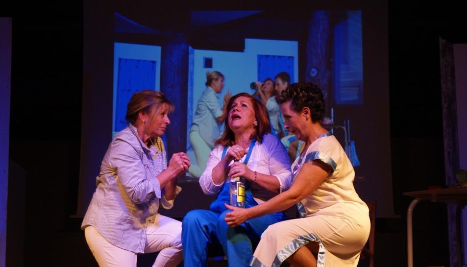 Un moment de l'espectacle protagonitzat pel grup de ballet i interpretació del CTT.