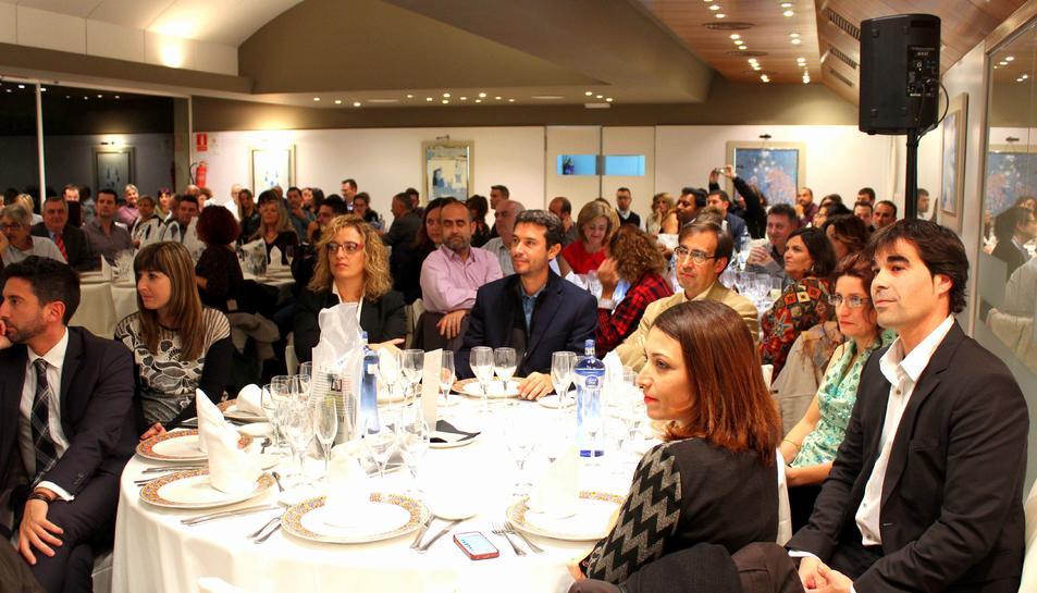 L'acte va reunir un total de 115 persones entre alcaldes, regidors i empresaris de la comarca.