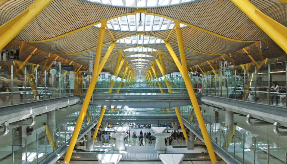 Aeroport de Barajas, Madrid.