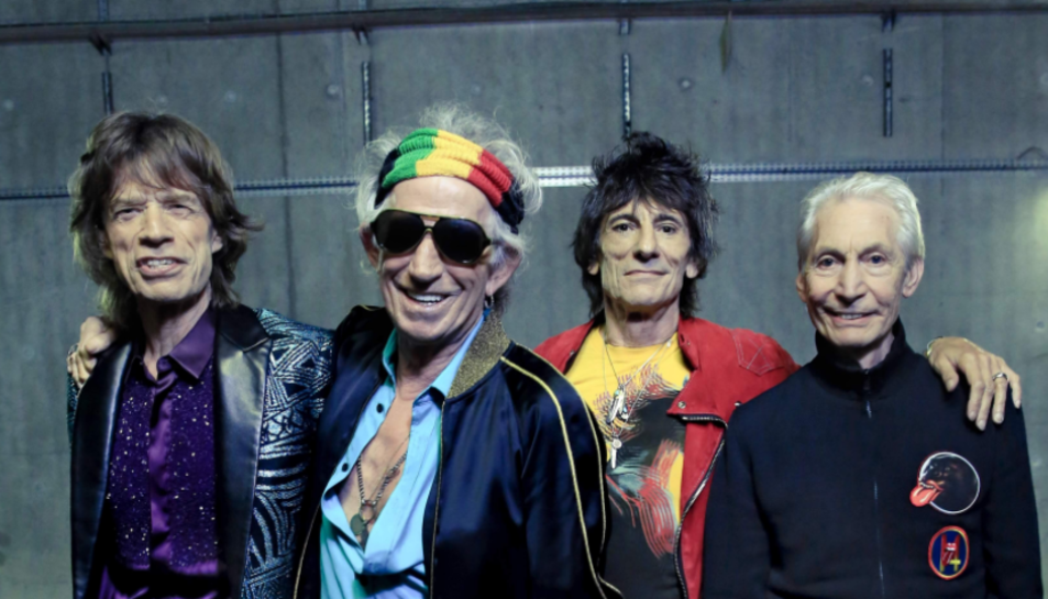 Imatge actual dels veterans Rolling Stones.