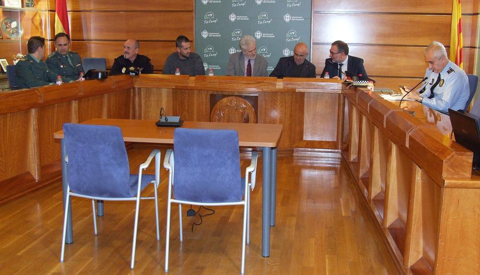 Imatge de la Junta celebrada aquest divendres