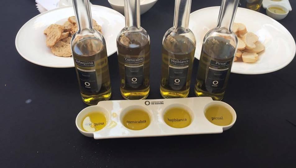 L'objectiu del tast és promoure l'oli terraltí als restauradors.