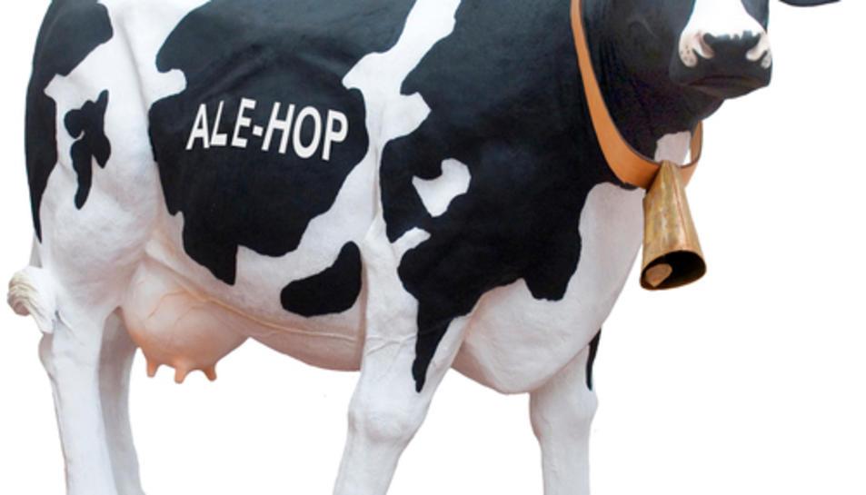 La vaca de la cadena comercial