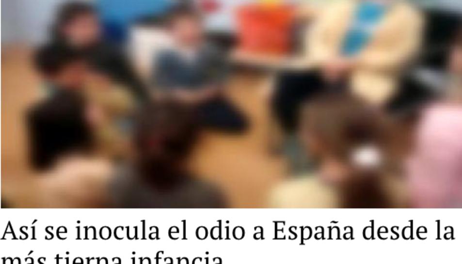 La notícia publicada per Libertad Digital.