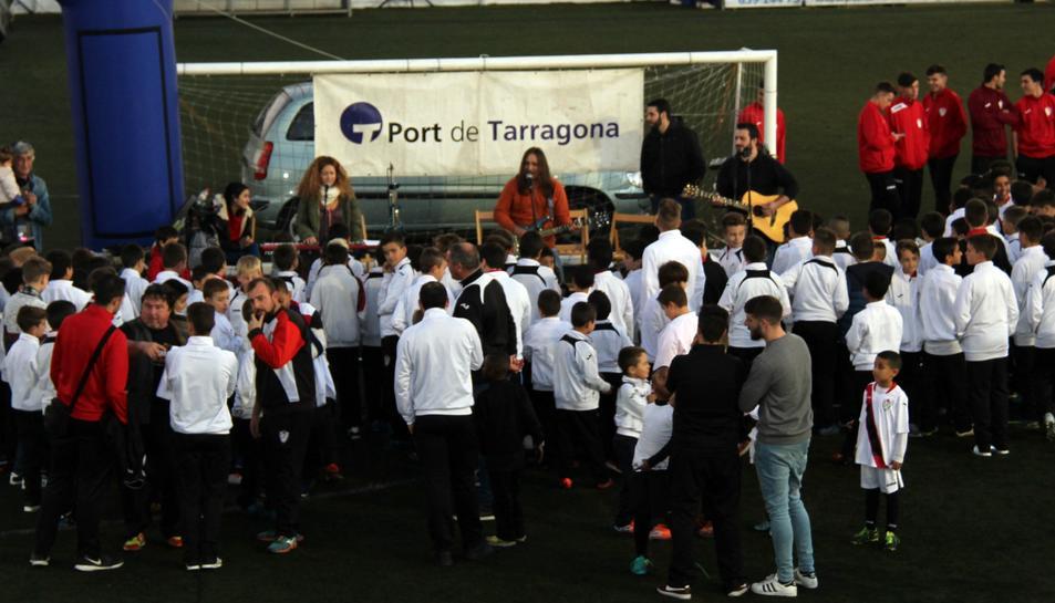 Més imatges de la presentació del CD Floresta