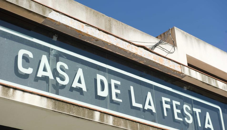 La Casa de la Festa romandrà tancada fins al 30 de gener.