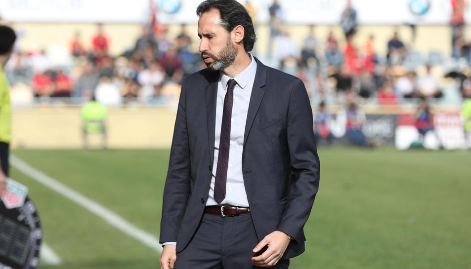 Vicente Moreno i els seus s'hi juguen molt demà.