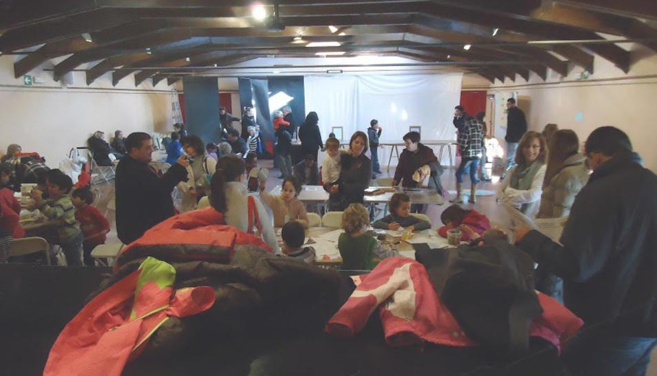 Imatge d'una de les activitats organitzades per l'entitat La Ballaruga.