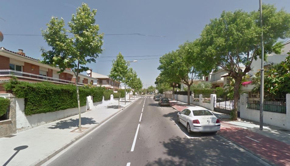 L'avinguda Vilafortuny és un dels carrers afectats pels treballs.