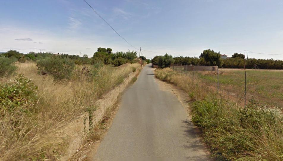 El camí del Burgar.