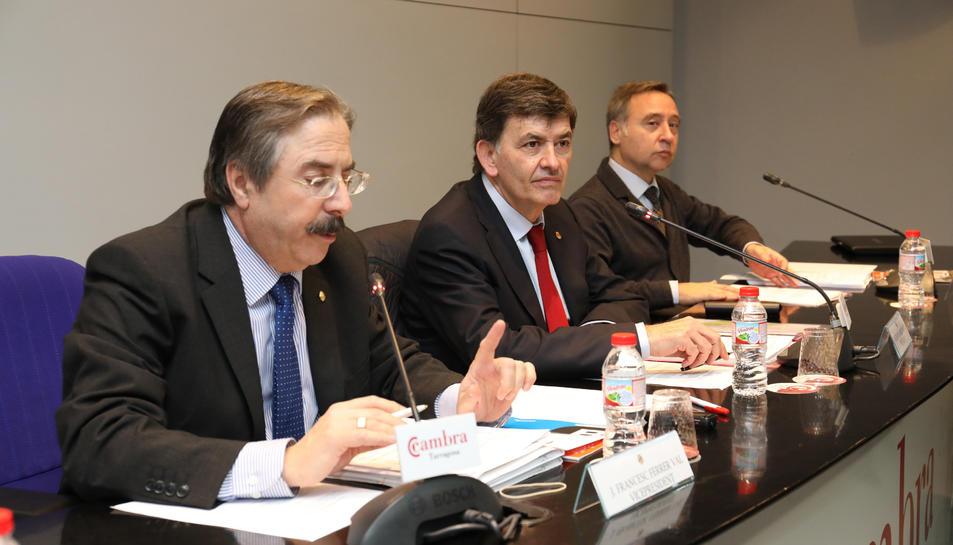 Josep Francesc Ferrer, Josep Maria Andreu i Javier Balañá.