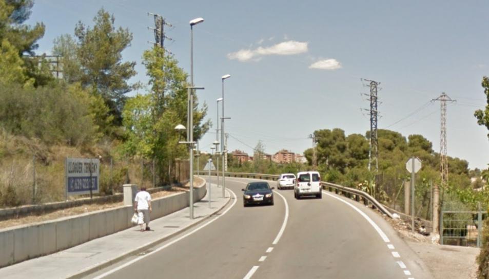 L'accident s'ha produït a la TP-2031, al terme municipal de Tarragona.